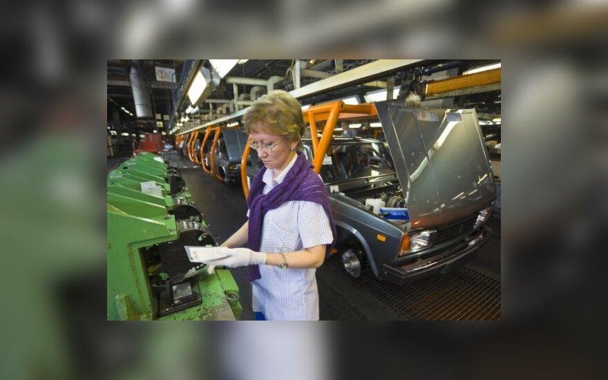 Rusai pasitiki nacionaline automobilių pramone