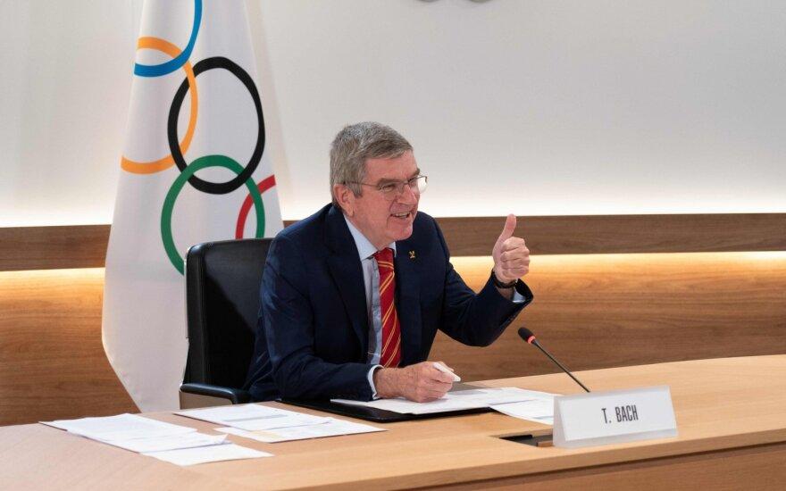 TOK prezidentas Bachas: Tokijo olimpinės žaidynės įvyks