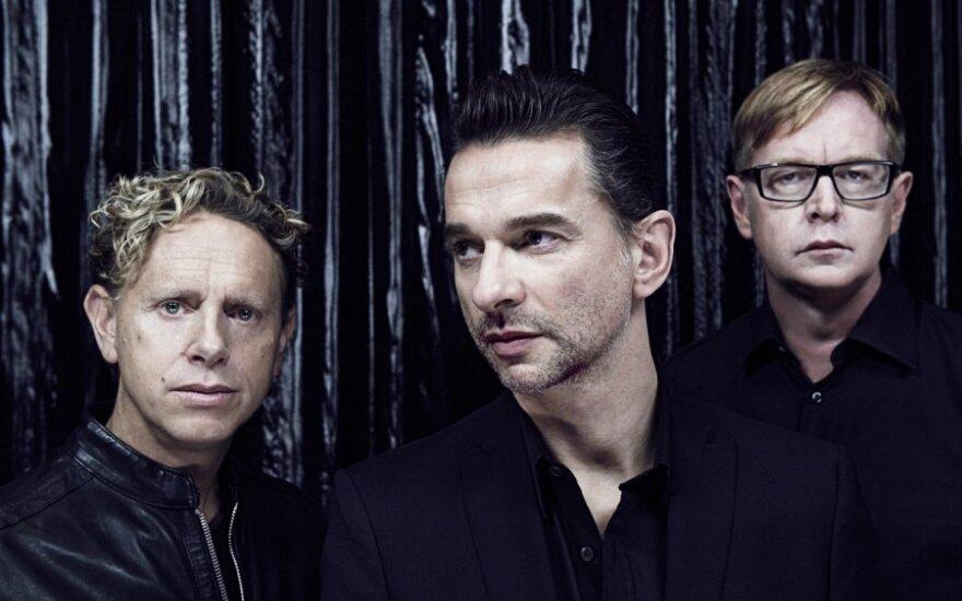 """""""Depeche Mode"""" paskelbė naujo studijinio albumo pasirodymo datą"""