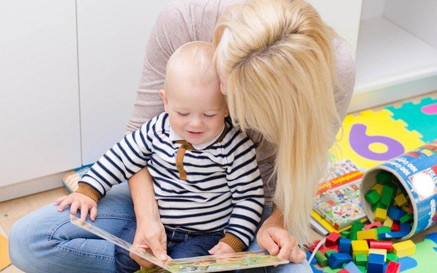 Pataria vaikams dažniau skaityti siaubo pasakas