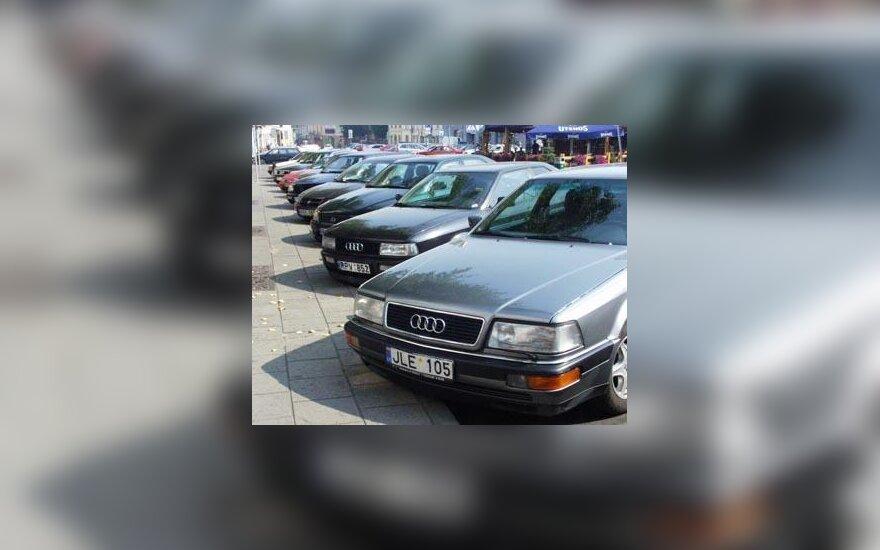Automobiliai, parkavimas