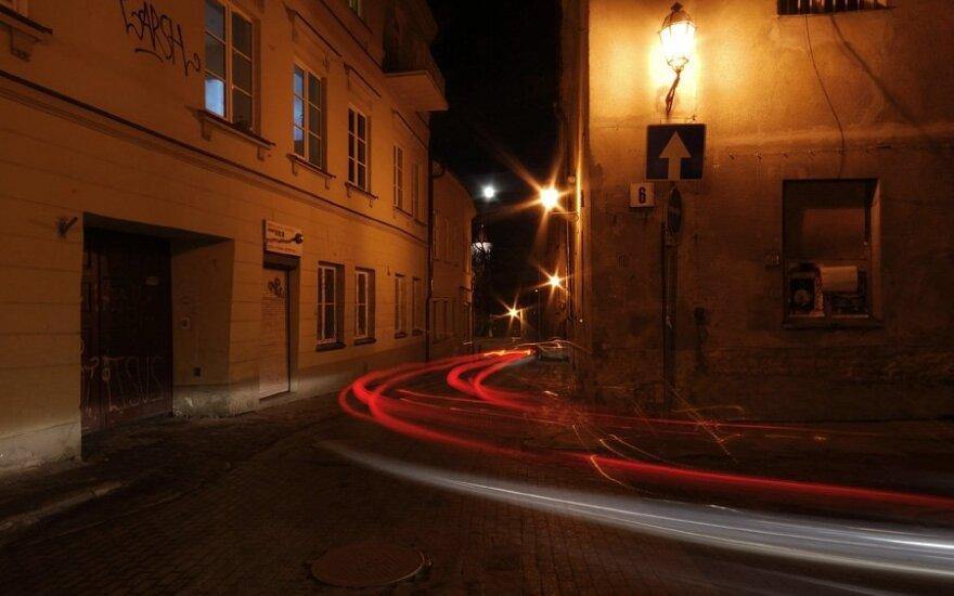 Gatvė Vilniaus Senamiestyje atsidūrė po užraktu