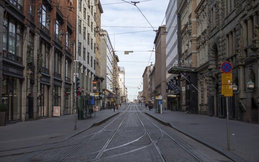 Suomija mokyklas vėl atidarys gegužės viduryje