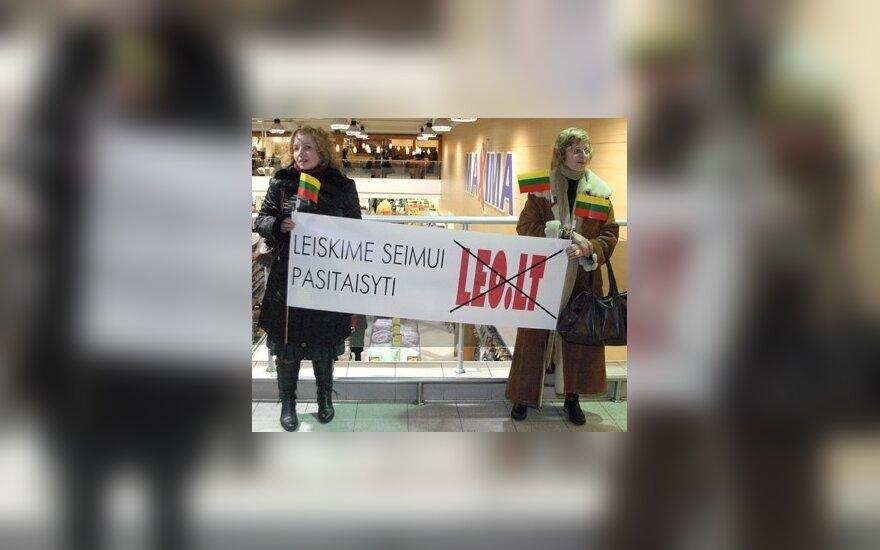 """D.Grybauskaitė: dėl """"Leo LT"""" likimo būtinas politinis sprendimas"""