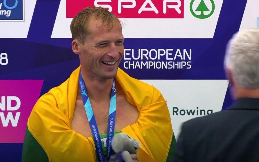 Iki pat finišo dėl aukso kovojęs Griškonis – Europos vicečempionas