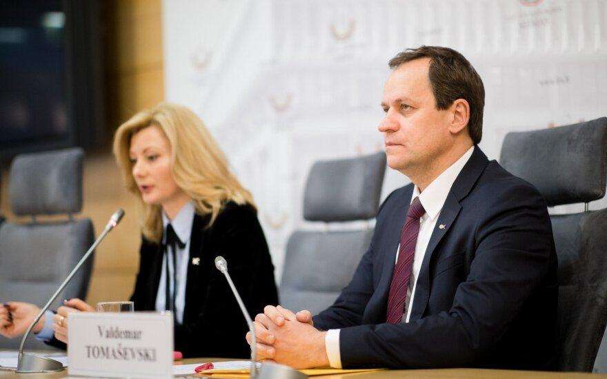 Rita Tamašunienė, Valdemaras Tomaševskis