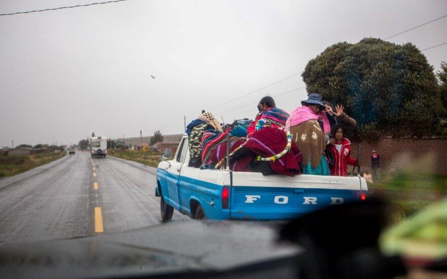 Dakaro ralis Bolivijoje: sunkumai aukštikalnėse ir pagalba vietiniams