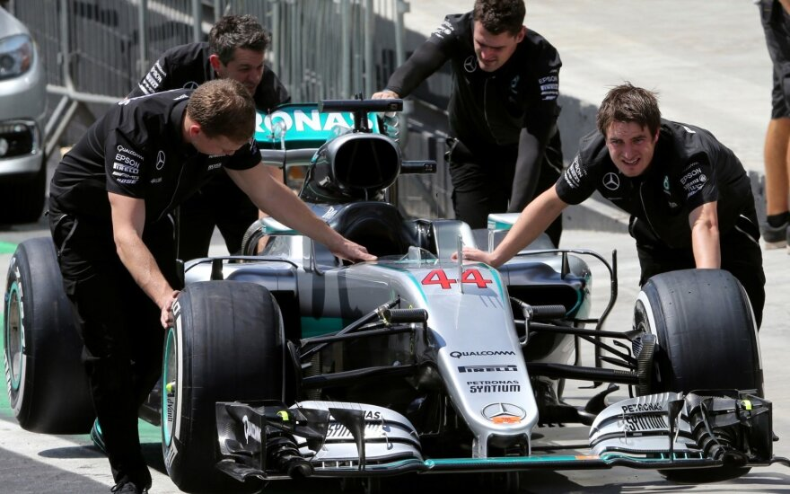 """Mercedes"" komandos laukia rimti iššūkiai"