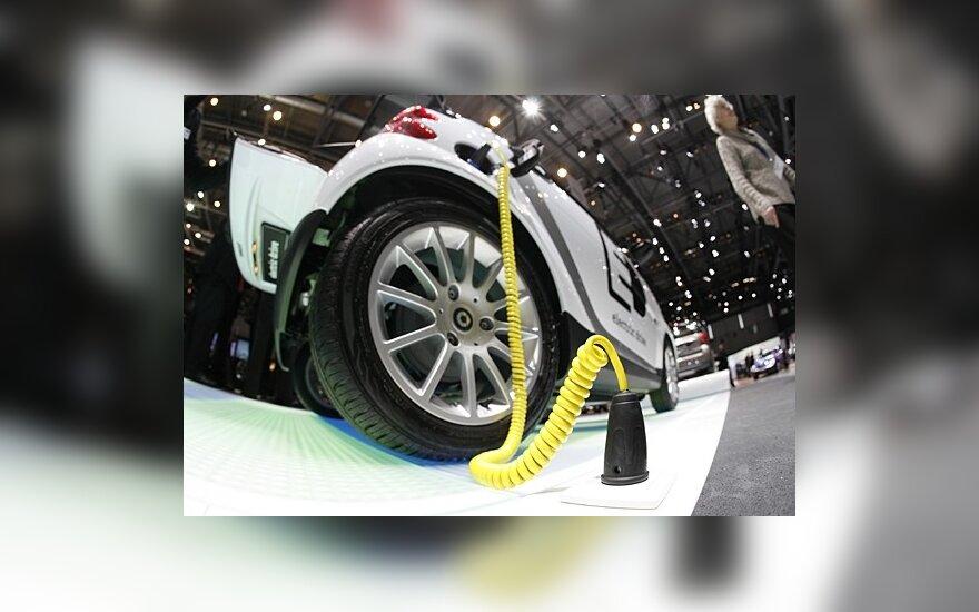 Ragina spartinti elektromobilių naudojimą