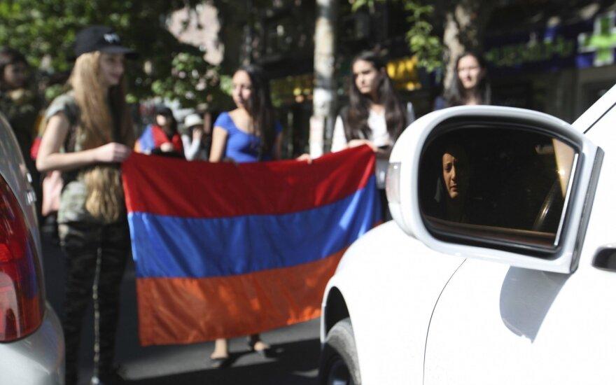 Po demonstracijų nutraukimo padėtis Armėnijoje normalizavosi