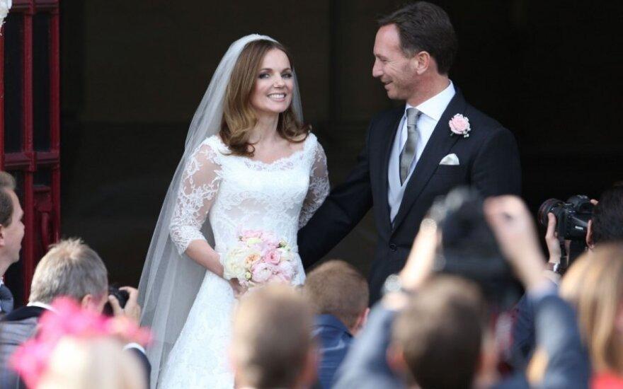 Susituokė Geri Halliwell ir Christianas Horneris