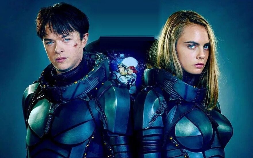 """Filmas """"Valerianas ir Tūkstantmečio planetų miestas"""""""