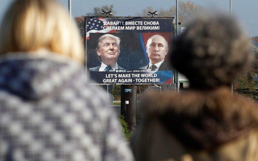 D. Trumpas, V. Putinas