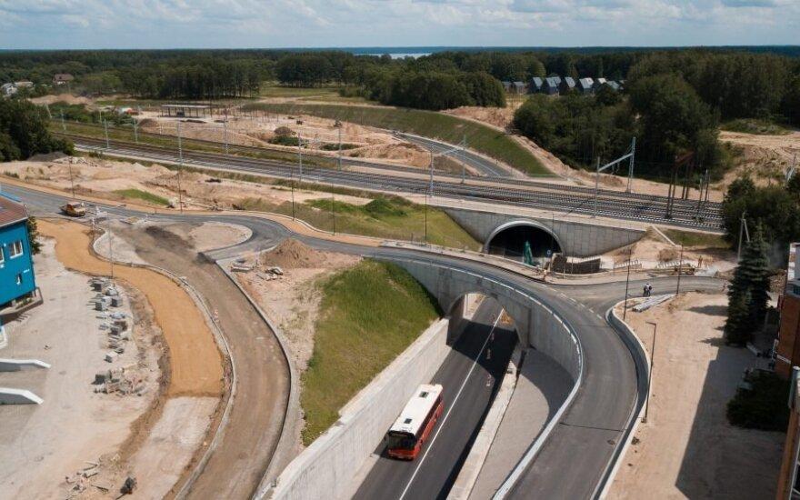 Kaune – dar viena pervaža mažiau: ją pakeitė tunelis