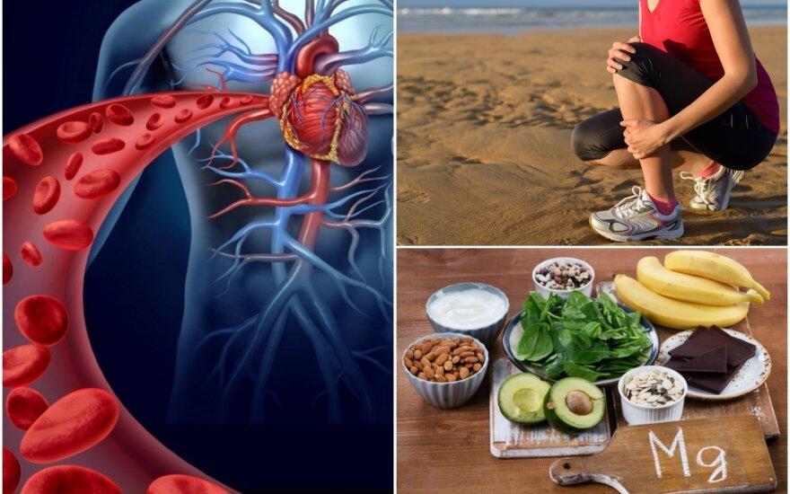 Ne tik mėšlungis praneša apie magnio trūkumą: nepastebėję šių simptomų, galite sulaukti rimtų sveikatos problemų