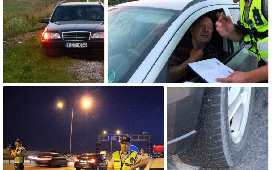 Pajūryje vienas po kito rengiami reidai: ne vienas prarado teisę vairuoti, nes per daug atsipalaidavo