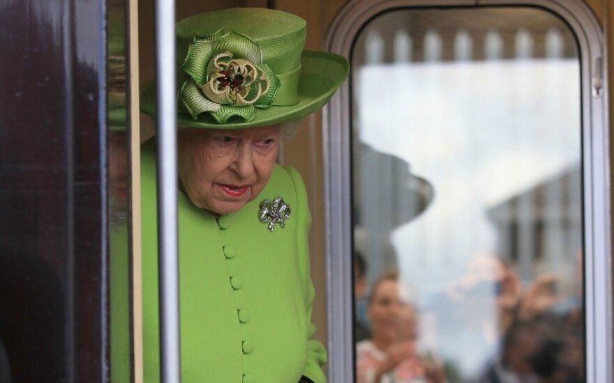 Karalienės Elizabeth II traukinys