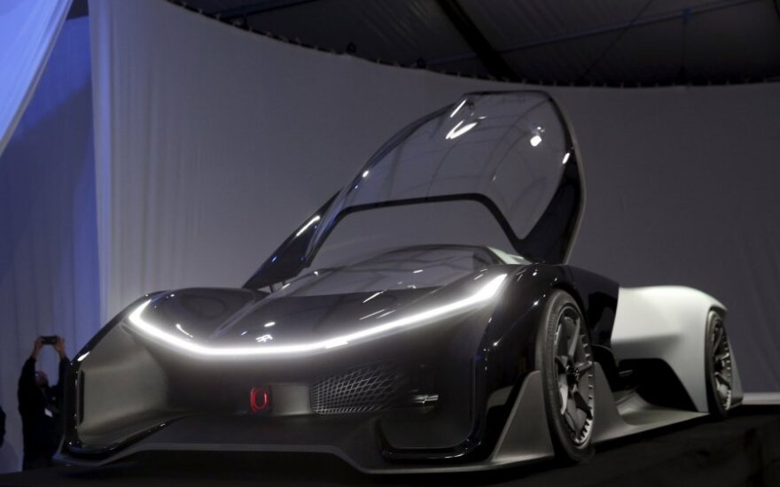 """Faraday FF Zero1 Concept"""