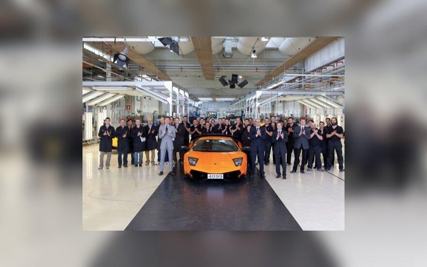 Paskutinis Lamborghini Murcielago
