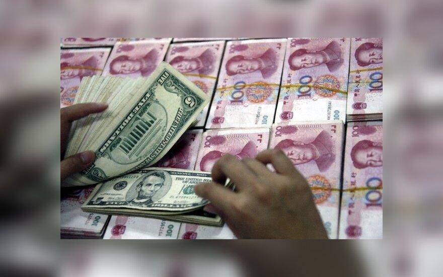 JAV doleriai ir Kinijos juaniai