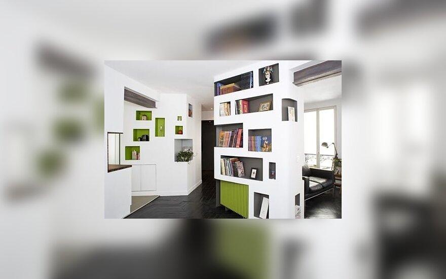 """Bibliotekinis loftas, """"H20 Architects"""""""
