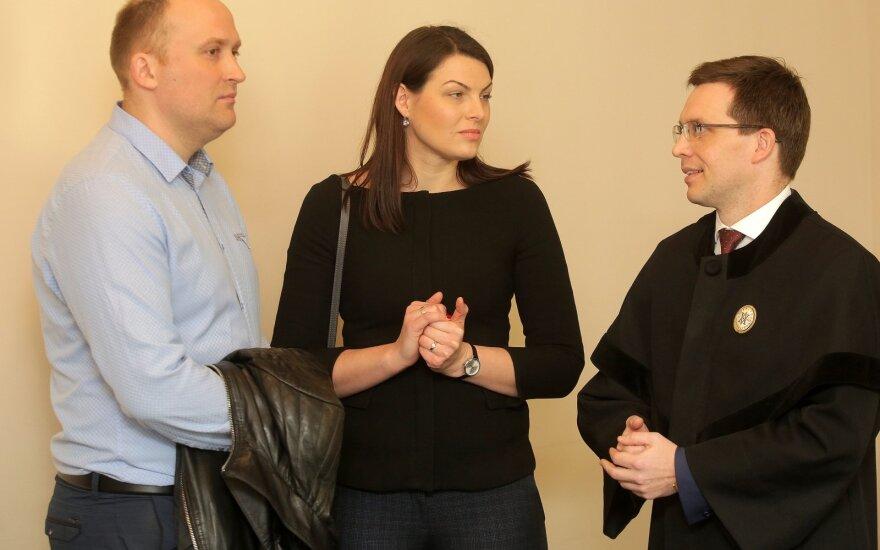 Rasa Kazėnienė teisme