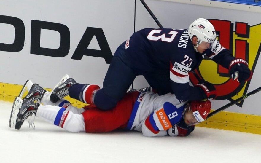 JAV įveikė Rusiją