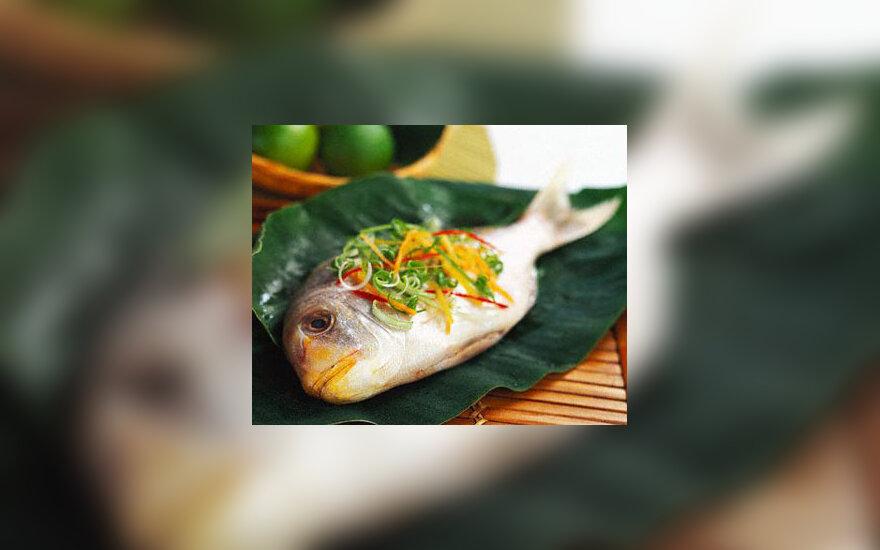Žuvis, maistas, patiekalas