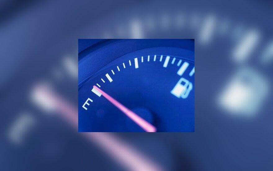 Benzino kaina degalinėse jau viršijo 4 Lt ribą, dujų – 2 Lt