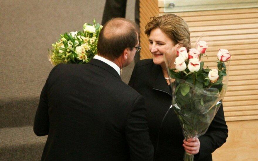 L. Graužinienė apie V. Uspaskichą: telefonu su ponu Viktoru nekalbame