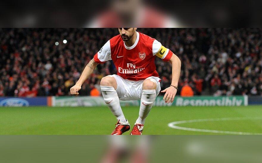 """Cescas Fabregasas (""""Arsenal"""")"""