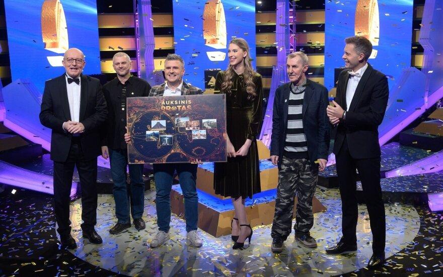 """""""Auksinio proto"""" nugalėtoju tapo transporto Marius Giedraitis / Foto: laidos kūrėjų"""