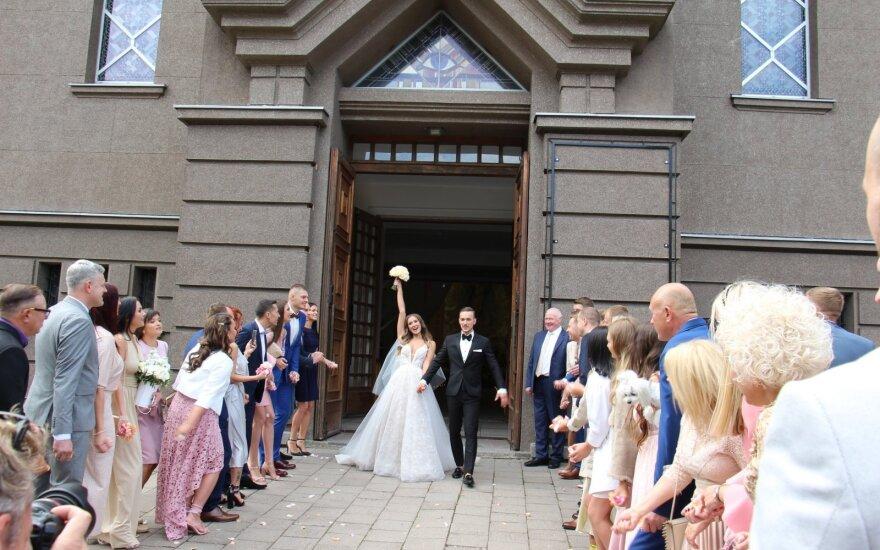 Gabijos Sruogiūtės vestuvių akimirka