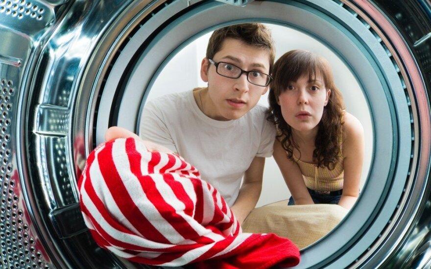 Penkios populiarios klaidos, kurios paspartina skalbimo mašinos gedimus
