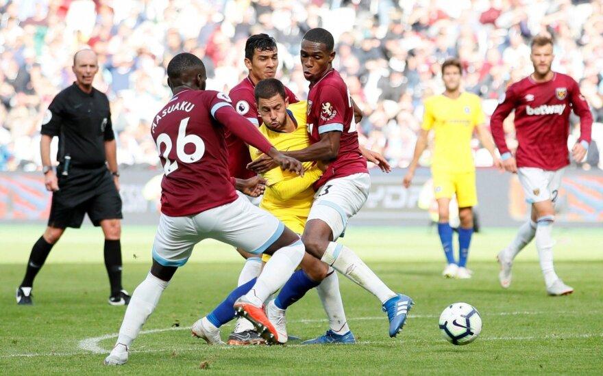 """Londono derbyje """"Chelsea"""" prarado pirmus taškus"""