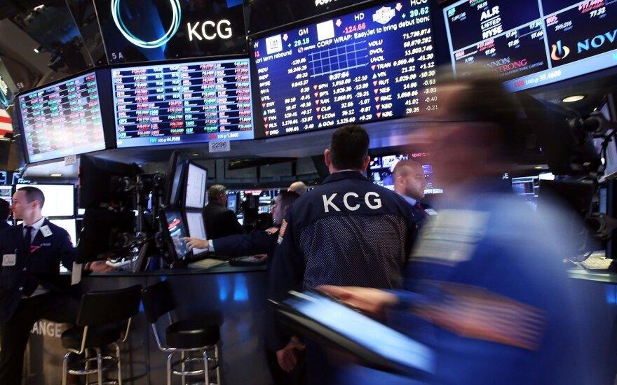 Akcijų biržose – nuo metų pradžios nematytas nuosmukis