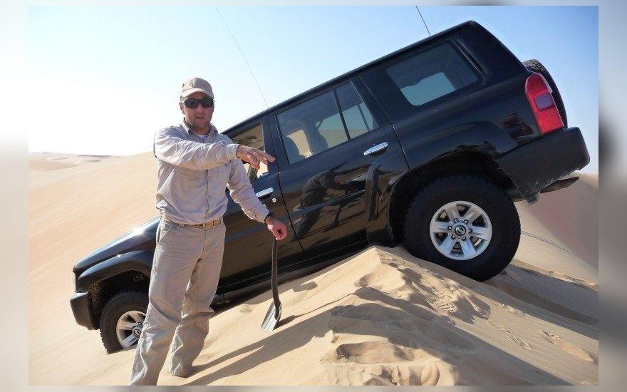 V. Žala ir S. Jurgelėnas startuos dykumų maratone Abu Dabyje