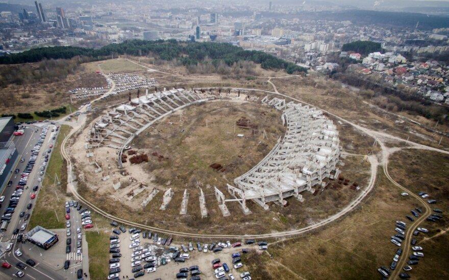 """Nacionalinio stadiono statybos: vėl grįžta prie """"Rubikono"""""""