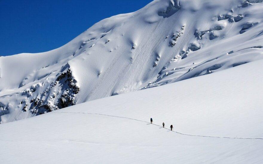Lietuvių alpinistai sieks oficialiai registruoti lietuviškus viršukalnių pavadinimus