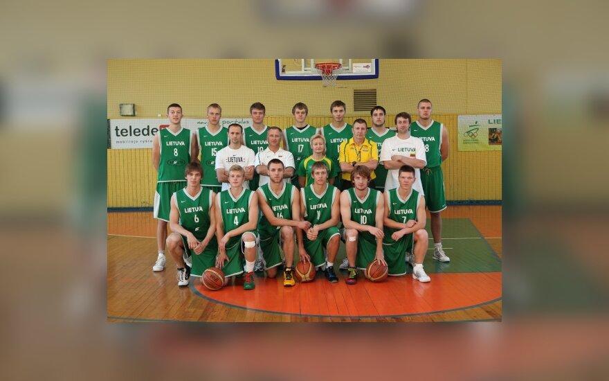 Lietuvos jaunimo (U-20) krepšinio rinktinė