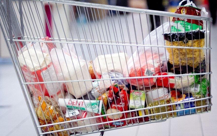 Lietuvoje kainos auga sparčiausiai ES jau ketvirtą mėnesį iš eilės