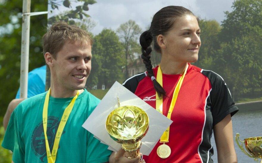 Mindaugas Viršilas ir Diana Lobačevskė
