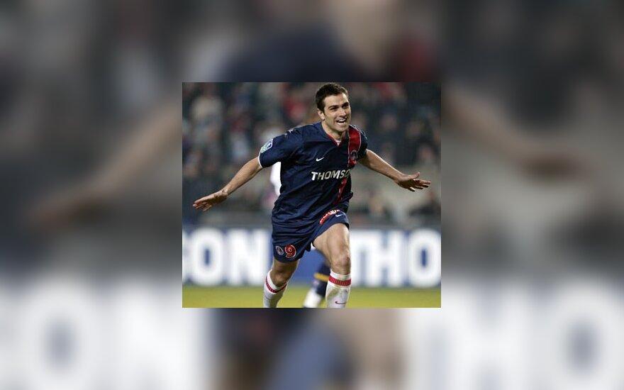 "Pedro Pauleta, ""PSG"""