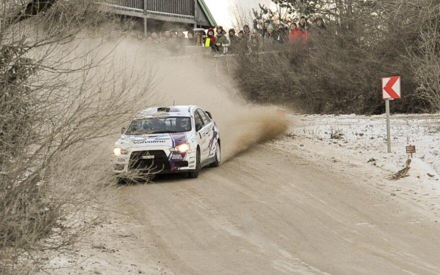 Halls Winter Rally 2014. J. Prozoraičio nuotr.