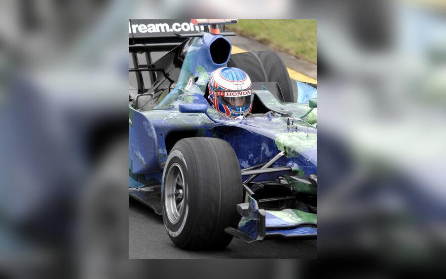"""Jensonas Buttonas (""""Honda"""")"""