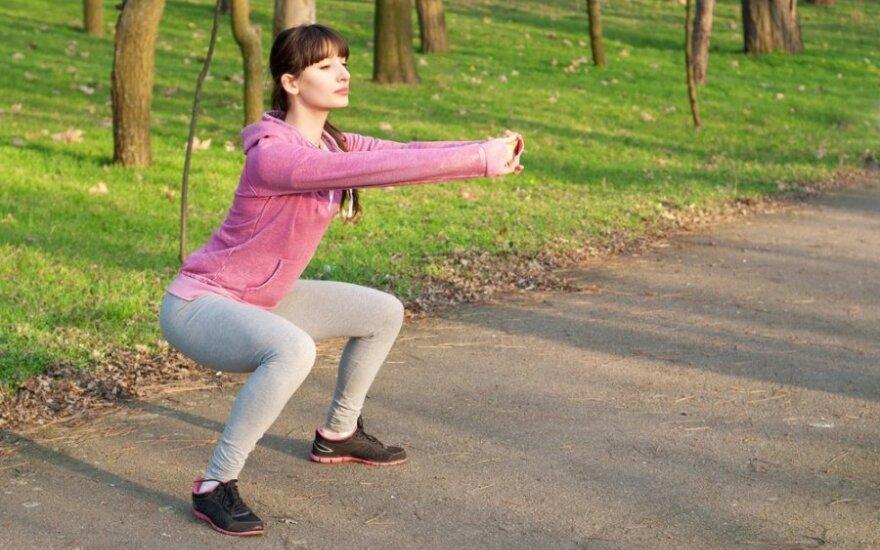 Ką daryti, jei sportuojate, bet svoris nekrenta?