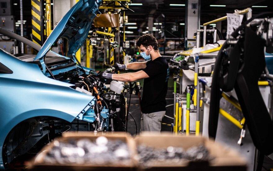 """""""Renault"""" gamykla Flinse, Prancūzijoje"""