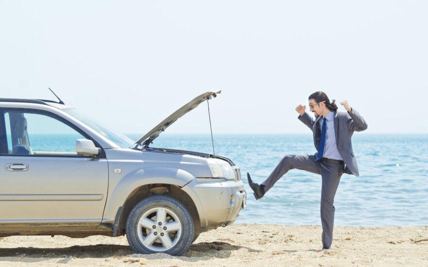 Vienas didžiausių vairuotojų priešų keliuose: ką daryti, kad jo pavyktų išvengti?