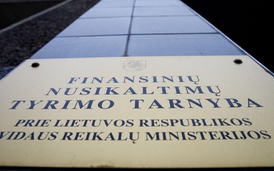 FNTT: verslininkas iš Švedijos per Lietuvą bandė legalizuoti dideles sumas