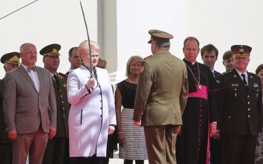 Vilniuje prisaikdintas naujas Lietuvos kariuomenės vadas